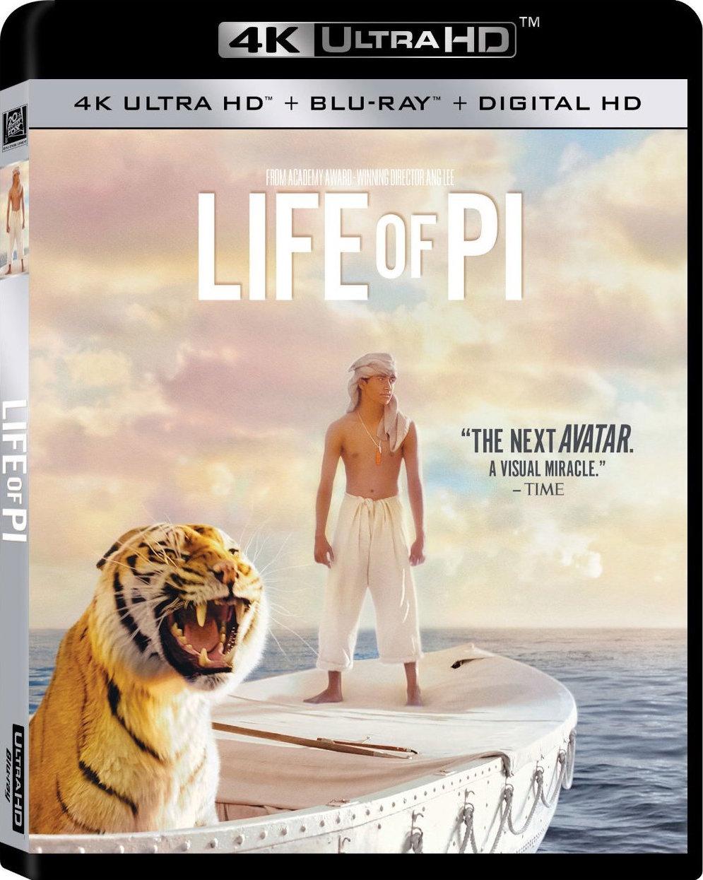 「4K HDR美影」少年派的奇幻漂流 Life of Pi (2012)「屏录版,非破解版」