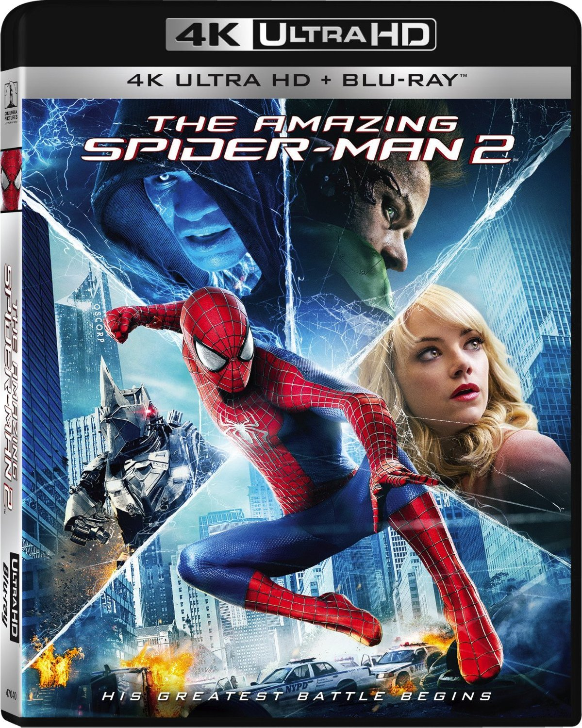 「4K美影」超凡蜘蛛侠2 The Amazing Spider-Man 2 (2014)「屏录版,非破解版」