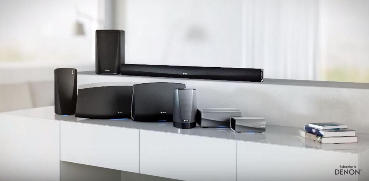 HEOS就在眼前,Denon新科技让音乐享受更便利!