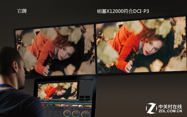 DCI-P3色域!明基4K投影体验堪比专业影院