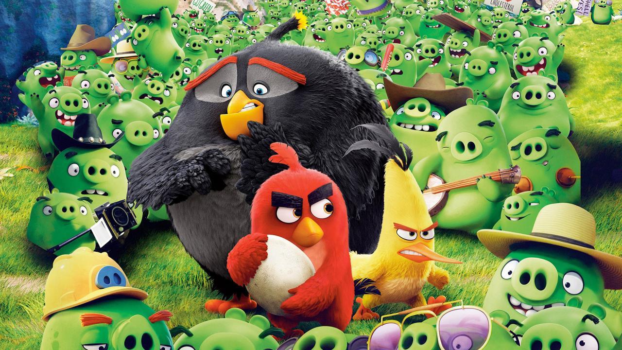「4K美影」愤怒的小鸟 Angry Birds (2016)「屏录版,非破解版」