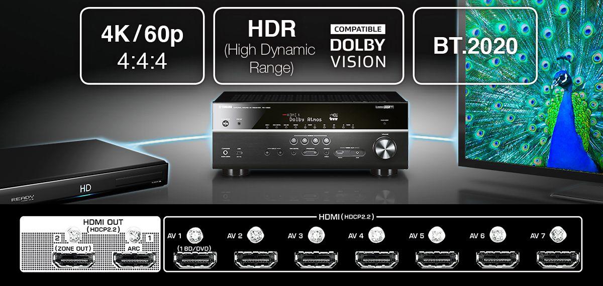 新品 | Yamaha雅马哈AVENTAGE系列RX-A3070,与Dolby Atmos / DTS:X 一同进入环绕新世界-影音新生活