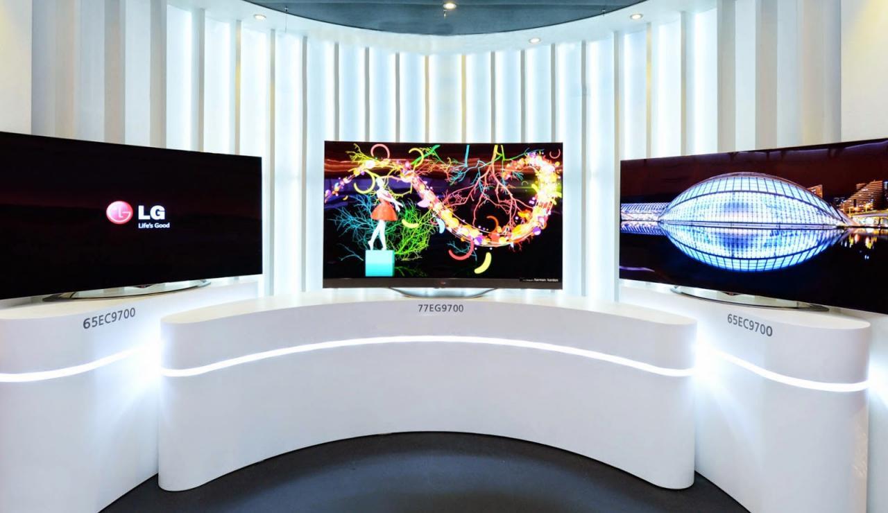 科普   现在有哪些品牌推出4K OLED和QLED电视?