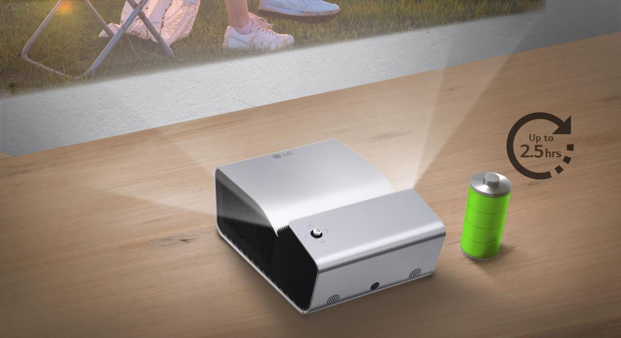 CN PH450UG FEATURE04 - 推荐 | 干净利落的投影环境,家居最爱的近投投影机:LG PH450UG