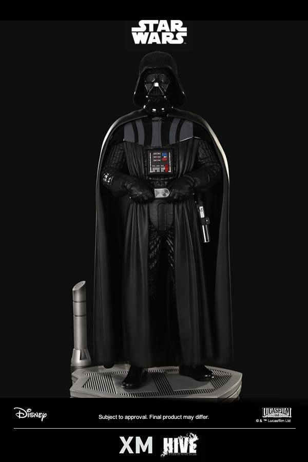 周边 | 我是绝地武士安纳金·天行者,我也是黑武士达斯·维德!!XM Studios Premium Collectibles 系列《星球大战》达斯·维德 Darth Vader 1/4 比例雕像套组