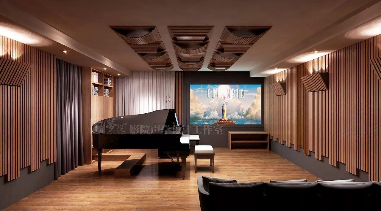 案例丨从悉尼歌剧院里走出来的琴房影院