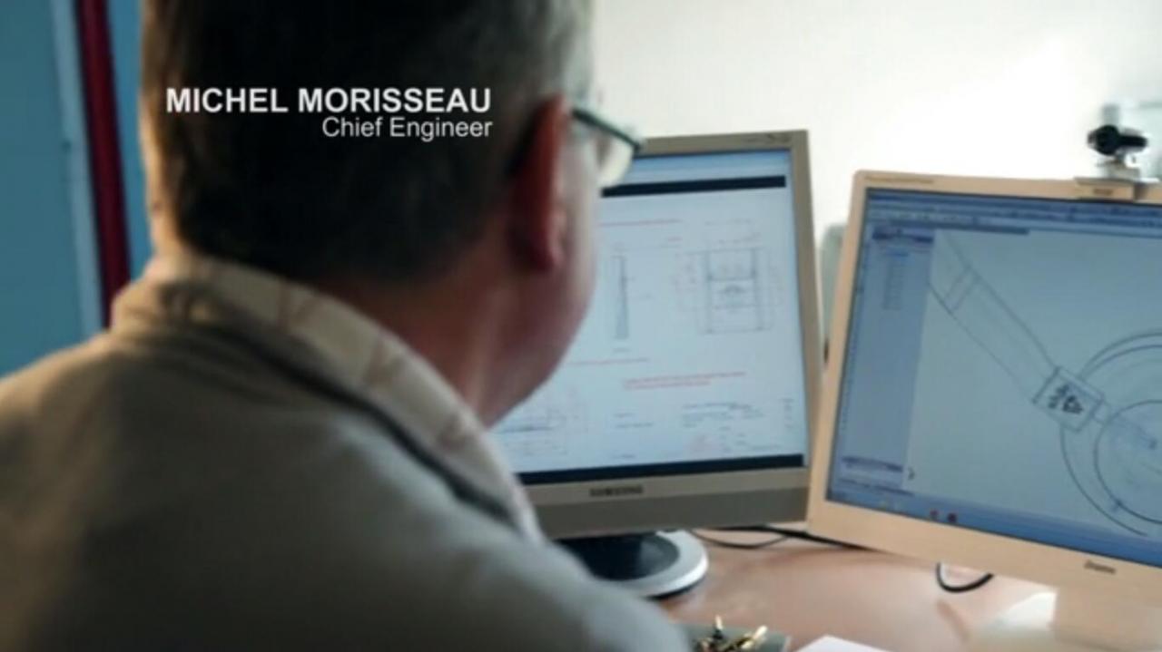 设计师Michel Morisseau
