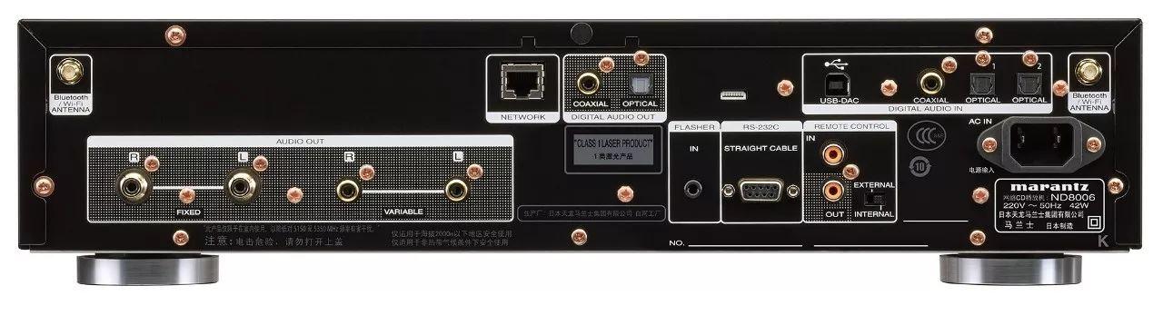"""新品丨重新定义HIFI播放机:马兰士ND8006 CD/蓝牙/高清流媒体""""三合一""""播放机,支持DAC模式和HEOS"""