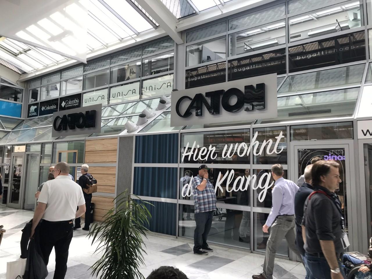 回顾丨神秘新品揭晓!德国CANTON亮相慕尼黑HIGH END音响展