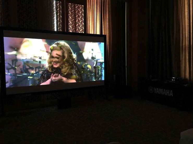 4K巡展:Yamaha 参加「真相大白 零距离 真4K & Top Cinema」石家庄站活动
