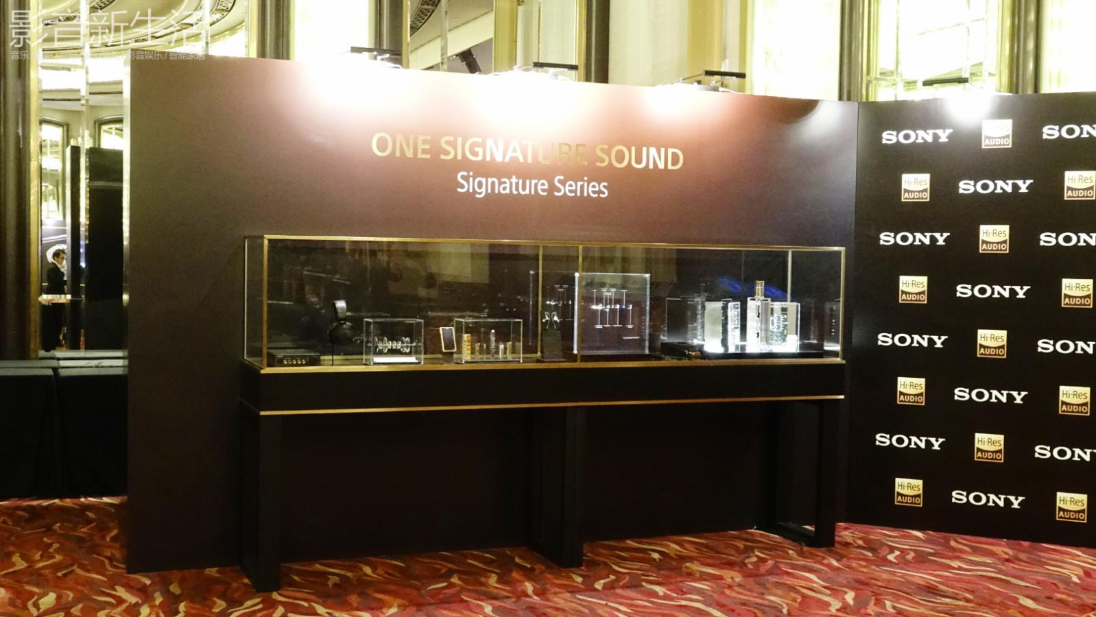 "Sony Hi Res 2018 34 - 新品 | ""重塑随身音乐娱乐王朝!"":Sony索尼发布Signature醇音系列新兄弟IER-Z1R和DMP-Z1,以及舞台监听耳机系列:IER-M7和IER-M9,还有升级款MDR-Z7M2!"