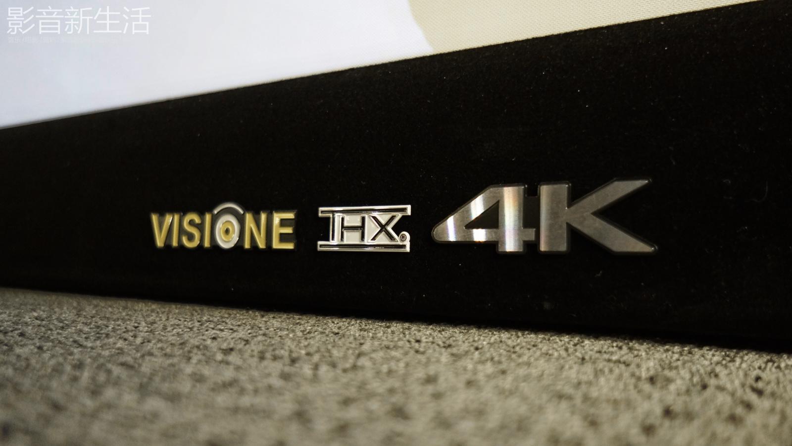 "Visione 4K UHD THX 12 - 推荐 | ""除了4K/UHD播放机、投影机,你的影院还需要一张合格的4K/UHD投影幕!"" Visione 4K THX认证投影幕!"