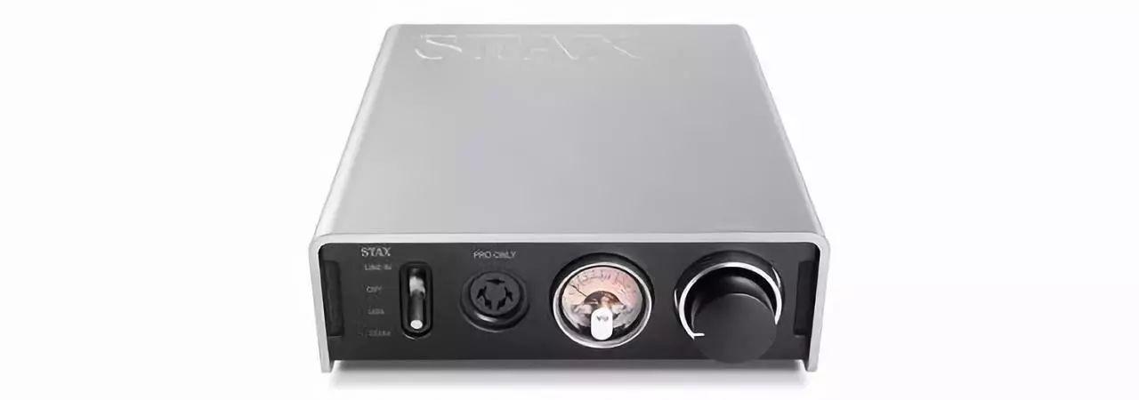 """新品丨""""银色盖板搭配黑色前面板,外观更时尚""""Stax SRM-D50 DAC耳扩"""