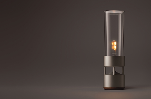 "articleimage 809547 - 新品 | ""妆点优雅音乐生活"":Sony LSPX – S1 无线玻璃共振喇叭"