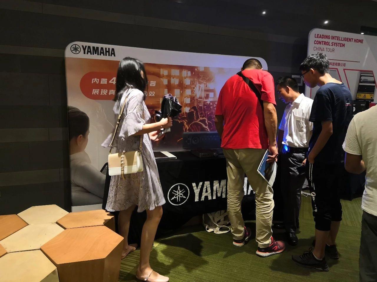 回顾 | 4K巡展:Yamaha 参加「真相大白'零距离 真4K & Top Cinema」郑州站活动