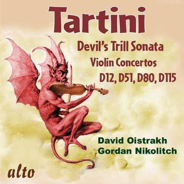 Giuseppe Tartini (1692-1770): Violinkonzerte D.12,45,51,117, CD
