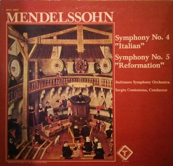 """""""这个乐章是名副其实的意大利"""" 门德尔松:A大调第四交响曲(意大利)"""