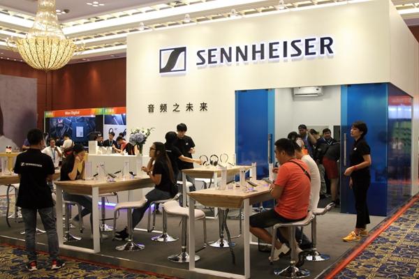 打开魔盒,体验未来:森海塞尔携高新科技亮相广州国际音响唱片展