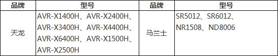 发布 | Denon 天龙 & Marantz 马兰士功放固件升级查询