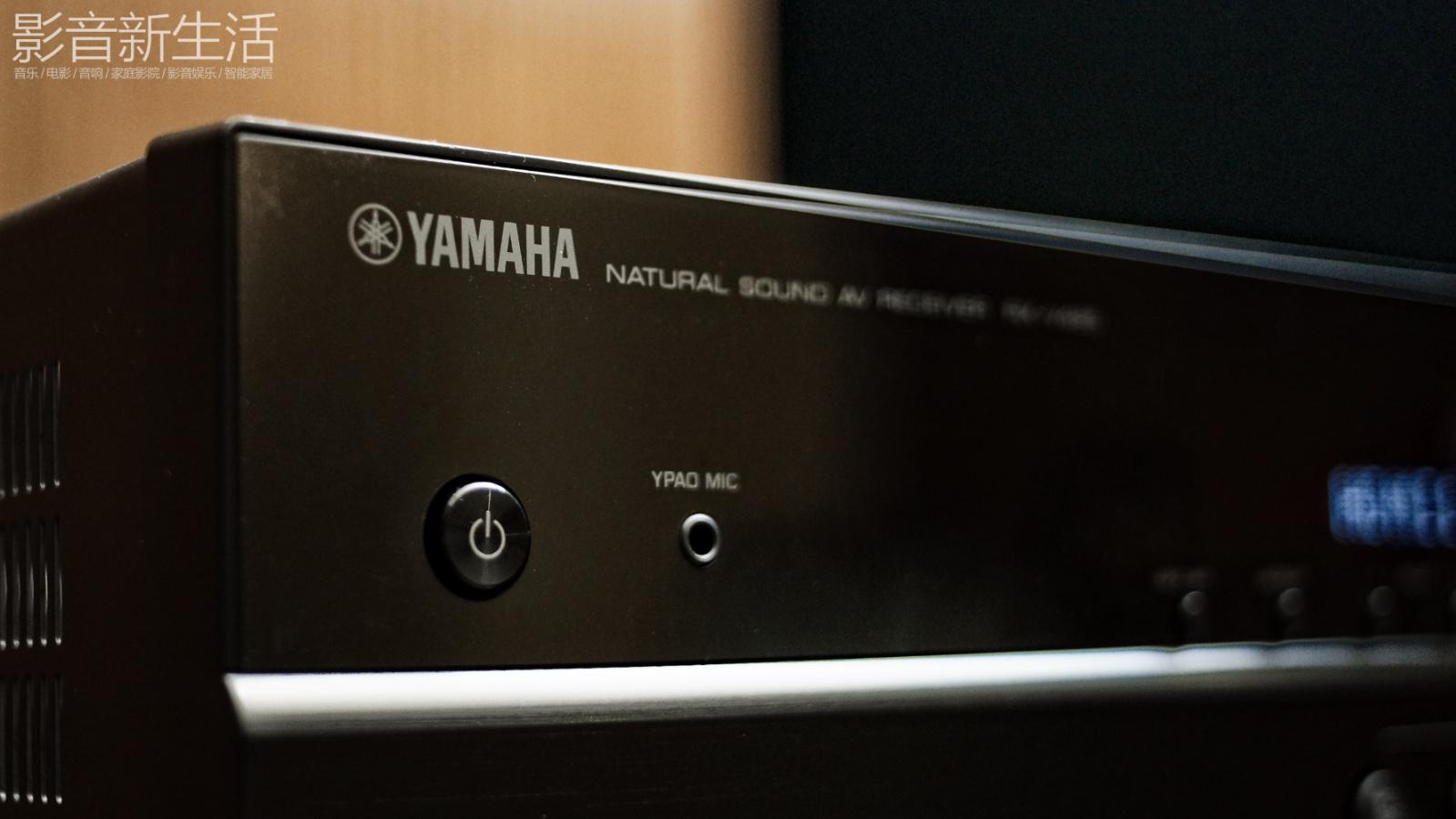 """推荐   """"超值的网络AV功放,支持最新环绕声格式与Hi-Res音乐播放"""" Yamaha 雅马哈 RX-V485"""