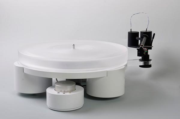 三马达皮带驱动:Tien Audio TT3黑胶唱盘