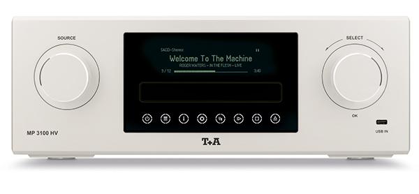 旗舰级中少见的高C/P值机种:T+A MP3100HV多功能播放器