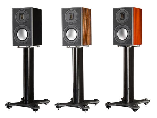 小小一对,用尽旗舰技术:Monitor Audio Platinum 100 II书架音箱