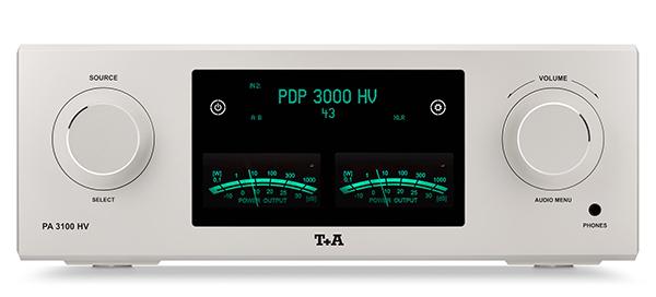 可作为系统的起点:T+A PA3100 HV合并扩大机