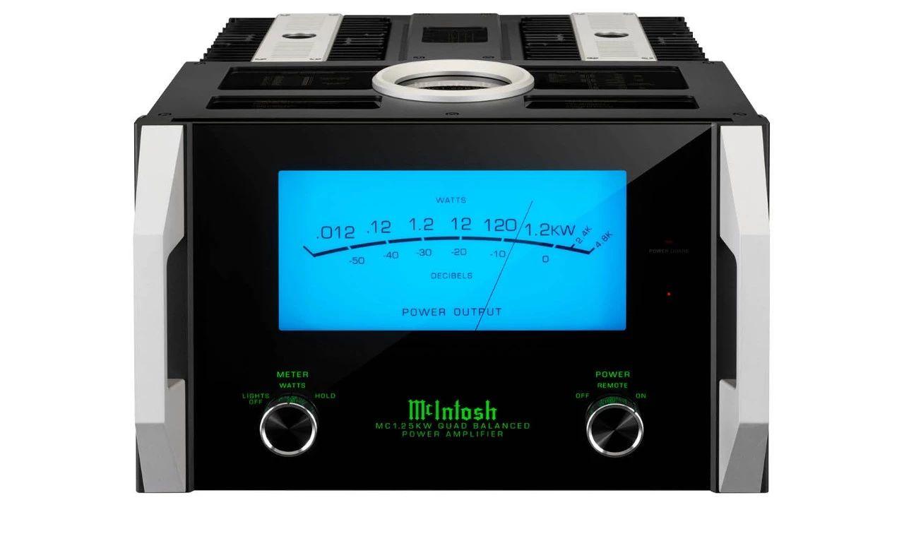 推荐 | McIntosh美国麦景图 MC1.25KW 极品级1200瓦单声道后级放大器-影音新生活