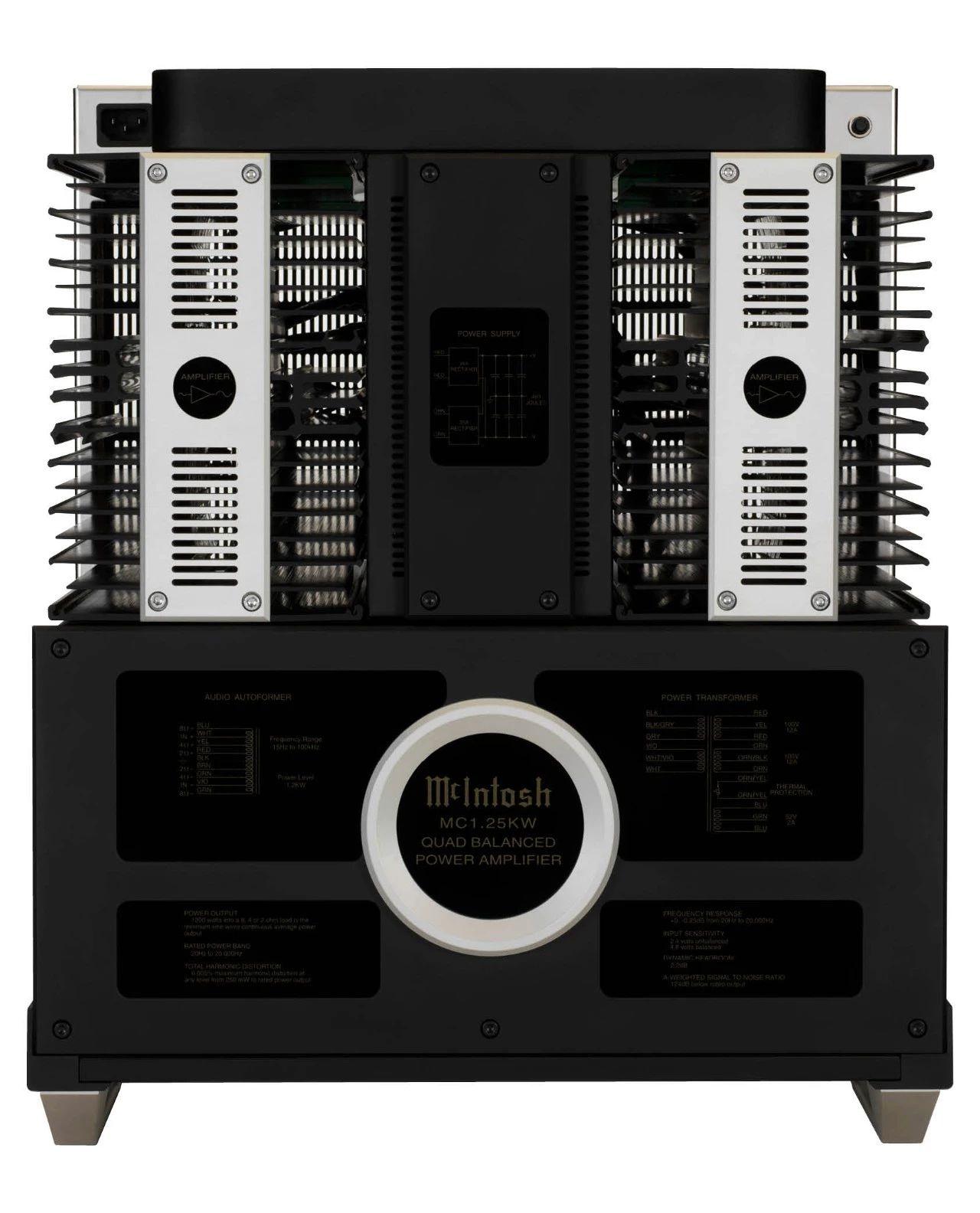 640 12 - 推荐 | McIntosh美国麦景图 MC1.25KW 极品级1200瓦单声道后级放大器
