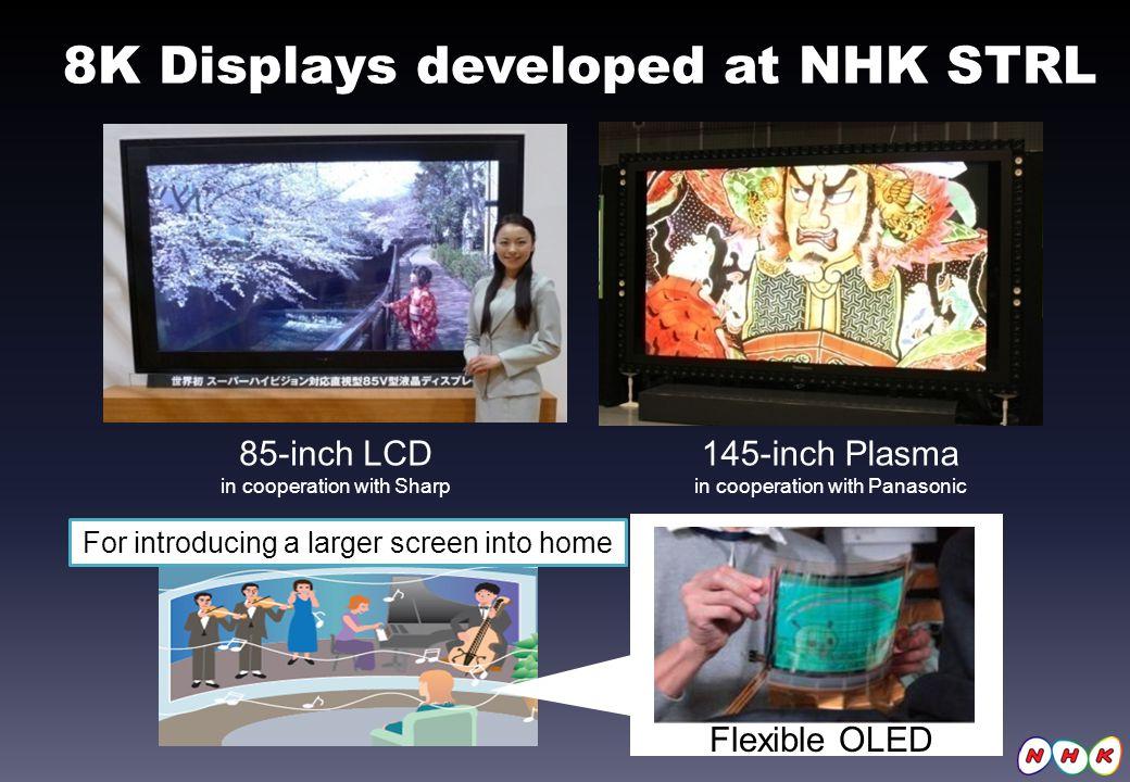 8K Displays developed at NHK STRL - 观点 | 随着年底日本将进入8K新纪元,裸视3D有可能成为明日新星吗?