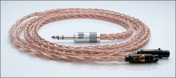 Norne Audio Draug 2 hd800 clear occ litz headphone cable replacement cable upgrade balanced trs rhodium01 - 攻略 | 耳机升级线有没有意义?如何搭配和选择?