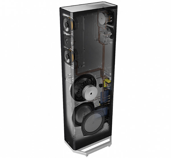 新品 | 内建主动式低音模块:Definitive Technology BP9040落地音箱-影音新生活