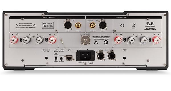 双/单声道自由切换:T+A A 3000 HV后级扩大机