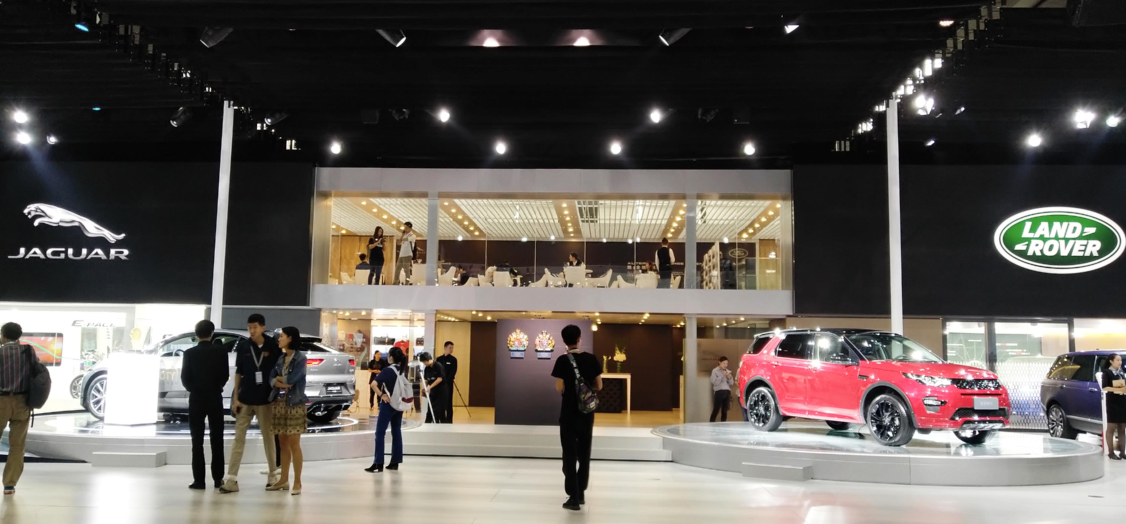 预告 | 再度应邀:英国之宝携旗舰产品,助力捷豹路虎广州车展
