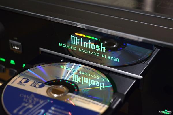 细腻富有感情: 麦景图McIntosh MCD600 SACD/CD唱盘