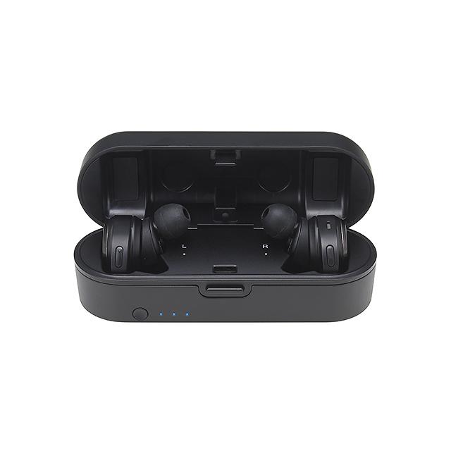 拟钻碳纤覆层振膜-Audio-Technica ATH-CKR7TW真无线耳机