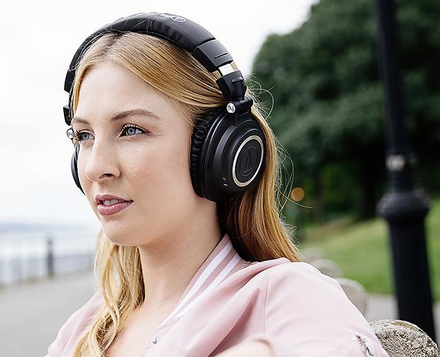 让鉴听经典更为方便-Audio-Technica ATH-M50xBT蓝牙耳机