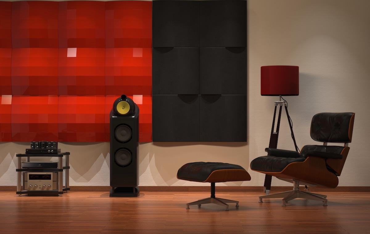 关于Hi-Fi | 音响空间(聆听空间)的声学处理到底有多重要?聆听空间为何一定要做适当的声波扩散与吸收?