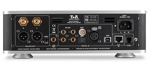 罕见的双DAC架构:T+A DAC 8 DSD数类转换器
