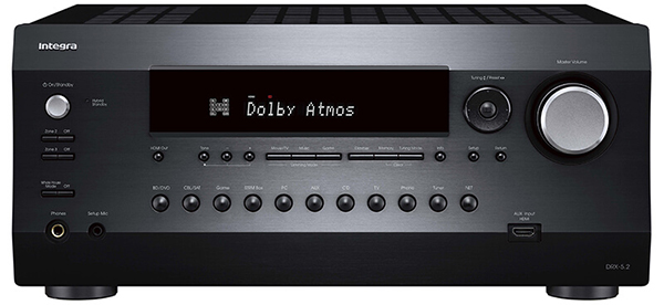 可扩充成7.2.4声道:Integra DRX-5.2环绕扩大机