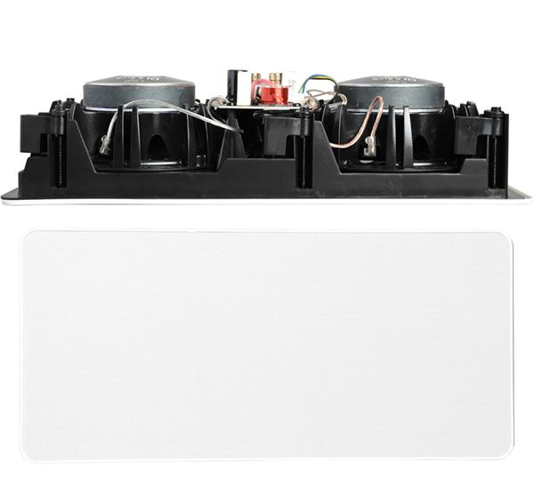 高音角度与量感可调:Definitive Technology DI5.5 LCR嵌入式音箱