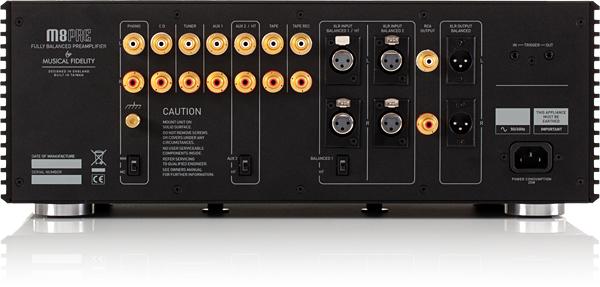 重量级中坚机种:Musical Fidelity M8PRE前级