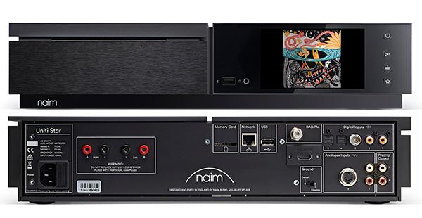 如星星般耀眼:Naim Uniti Star全功能机种