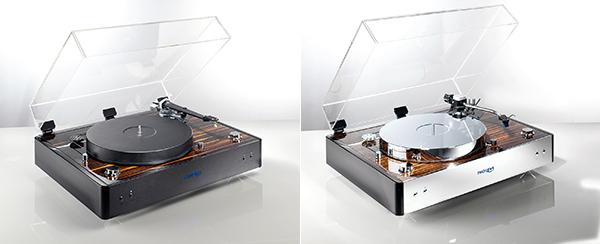 镀铬处理光可鉴人:Thorens TD 550黑胶唱盘