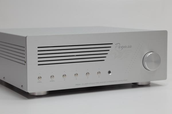 新品   过人的表现欲:Pegaso Audio P50A真空管合并扩大机-影音新生活