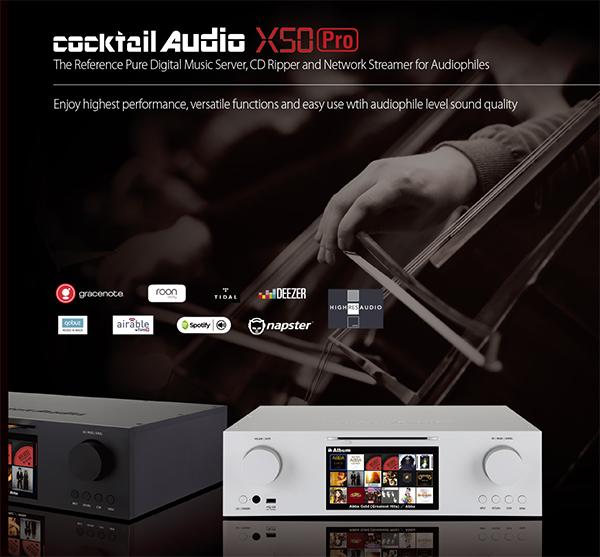 功能强大无比:Cocktail Audio X50Pro音乐服务器