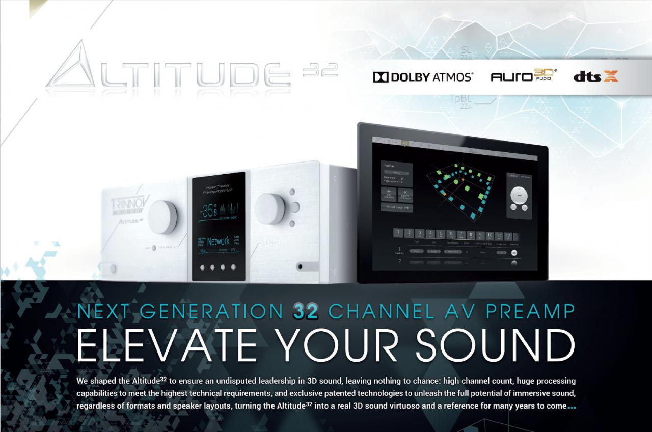 640 157 - ?????? | Trinnov Audio Altitude 32 | ??????????¨???????????????????32??°é??????????°?¤??????¨???