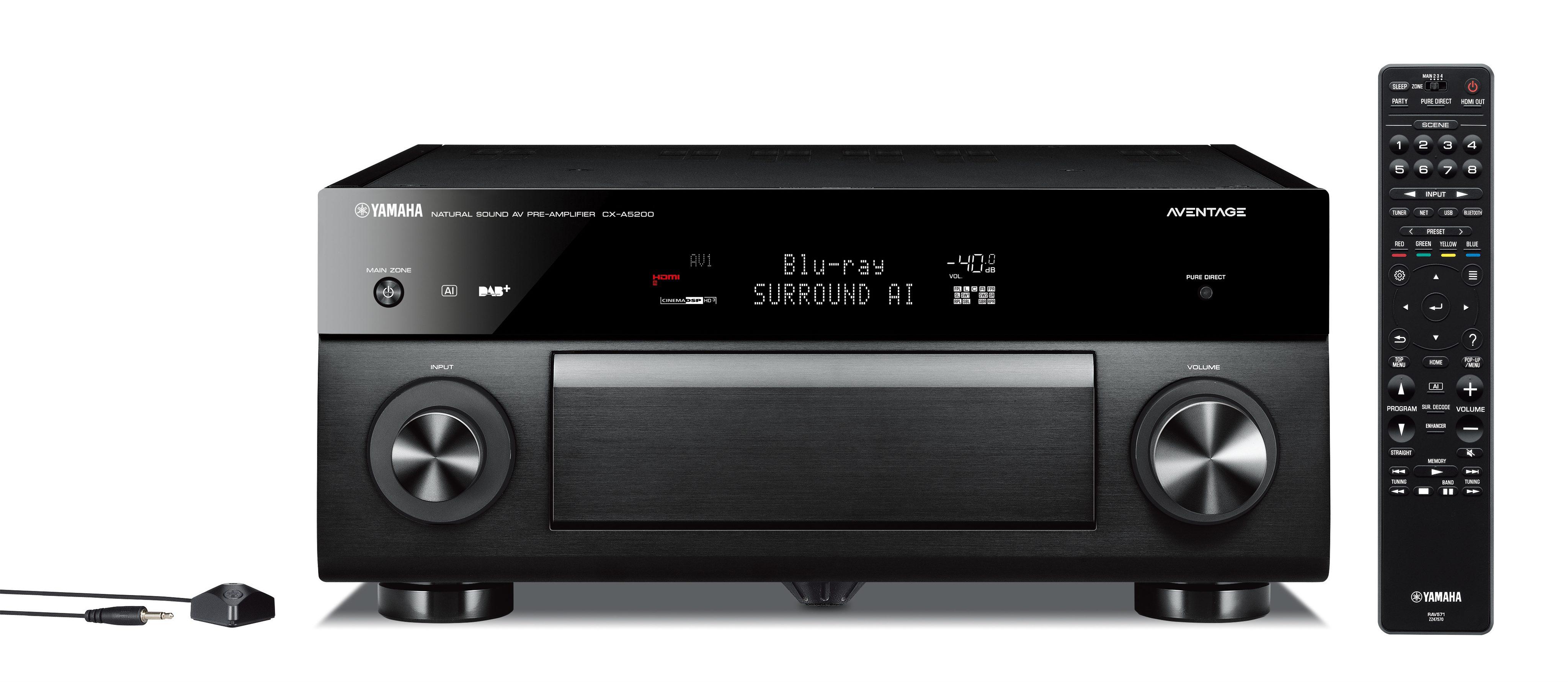 发布   全新MusicCast与Surround:AI功能加持,Yamaha雅马哈最新旗舰11.2声道CX-A5200/MX-A5200前后级发布