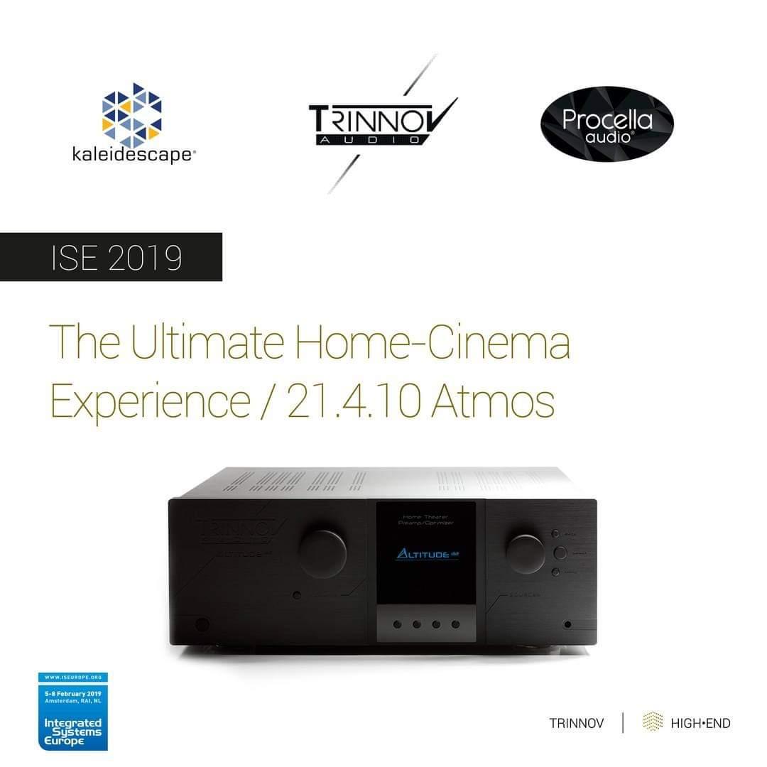 "2EDD3884 A0DA 472A 98BA DD2D634A3F1A - 现场 | ""Dolby Atmos 21.4.10声道的极致震撼"" Trinnov Audio & Procella Audio亮相荷兰阿姆斯特丹ISE2019展会!"